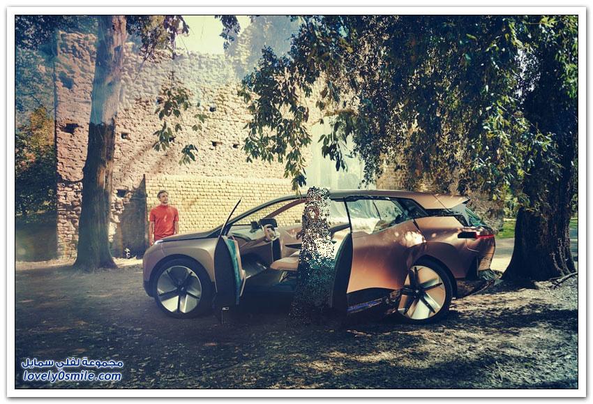 بي إم دبليو تستعرض سيارة الأحلام الكهربائية iNext