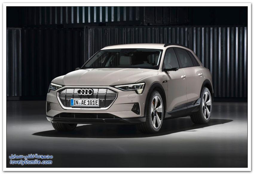 سيارة أودي إي ترون 2019 الكهربائية