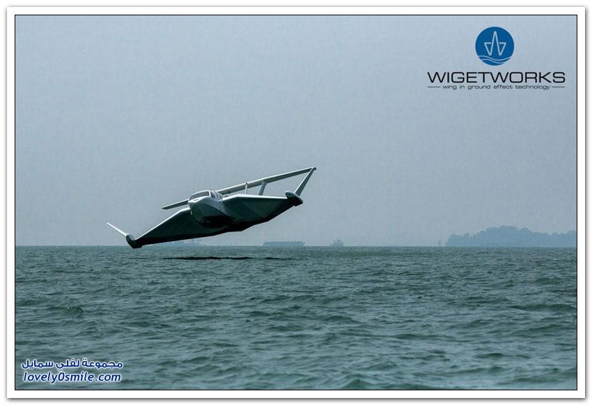 طائرة مائية أنيقة بقدرات خارقة