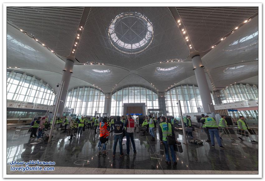 افتتاح أكبر مطار في العالم في إسطنبول