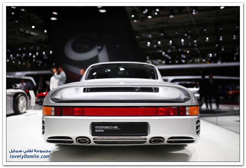 السيارات الكهربائية والكلاسيكية في معرض باريس للسيارات 2018م
