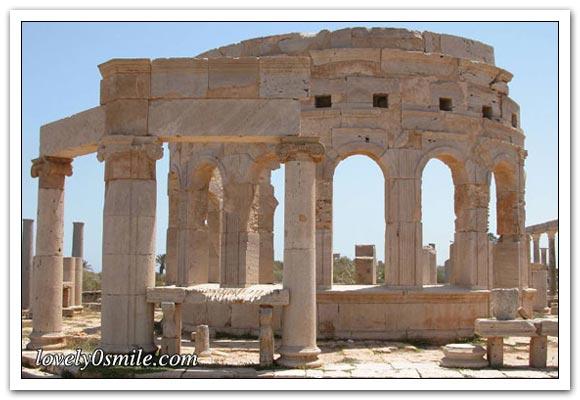الأثآر والسياحية في ليبيا - صور