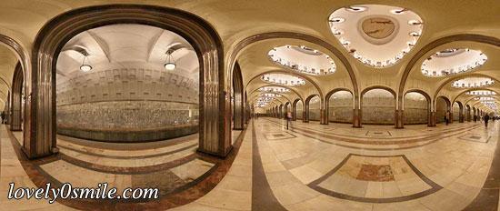 صور من محطات روسيا