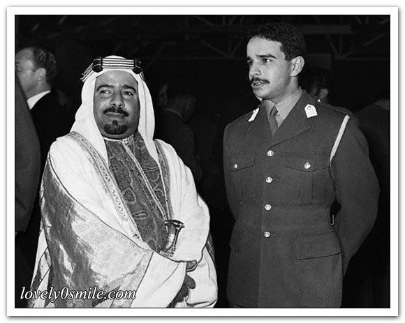 صور نادرة لبعض حكام العرب