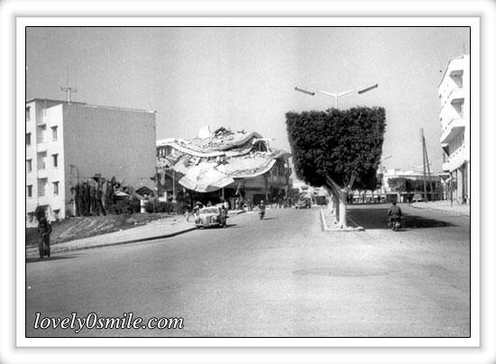 صور نادرة لزلزال أغادير بالمغرب