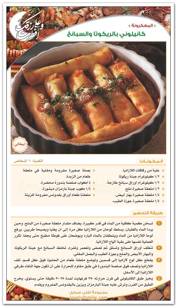 اجمل الطبخات بالصور