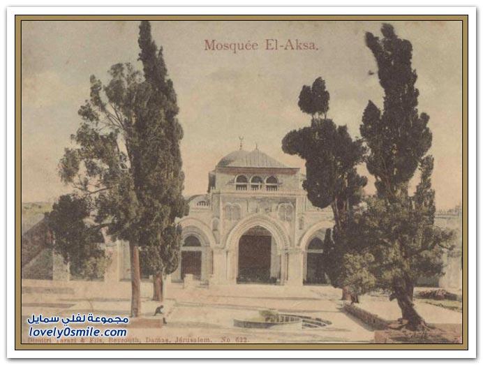 الأخيرة من العهد العثماني كانت فلسطين من الناحية الإدارية تقع