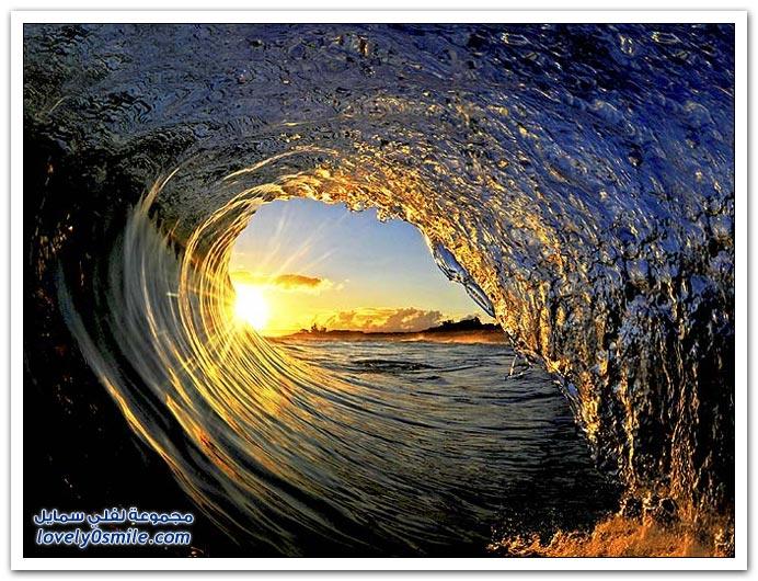 صور لجمال أمواج البحر