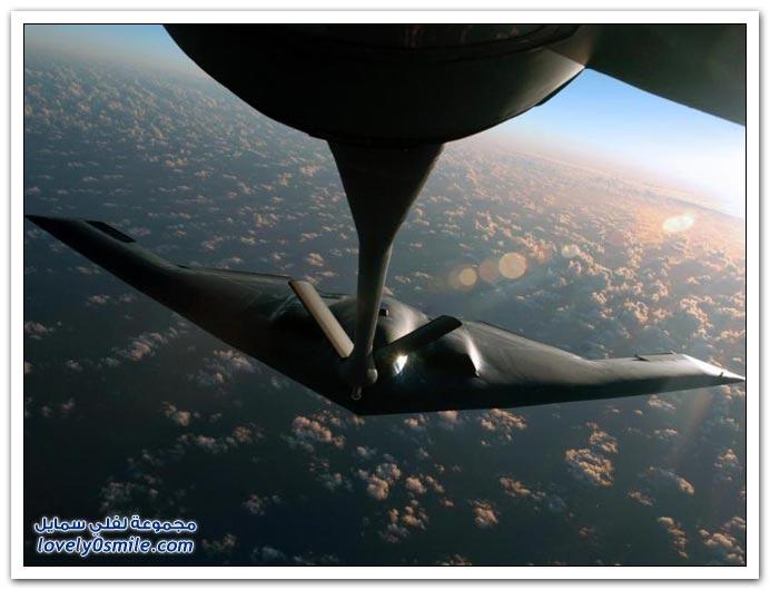 صور لطائرة الشبح و طائرة إف - 117 نايت هوك