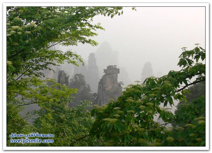 صور عجيبة لجبال من الجرانيت