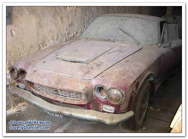 صور سيارات منتهية الصلاحية