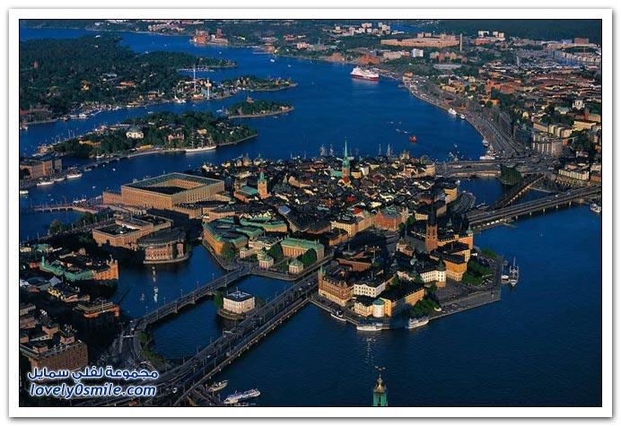 صور رائعة من الأعلى لبعض المناظر من دول العالم