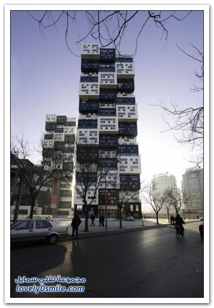 صور مبنى عجيب في مدينة ليغو في الصين