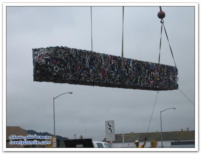 صور: 340 دراجة في تمثال الدراجة في ولاية كليفورنيا