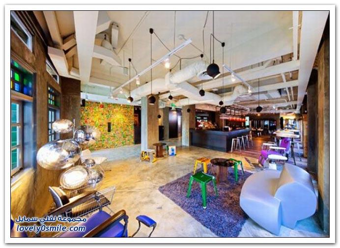صور فندق غريب في سنغافورة