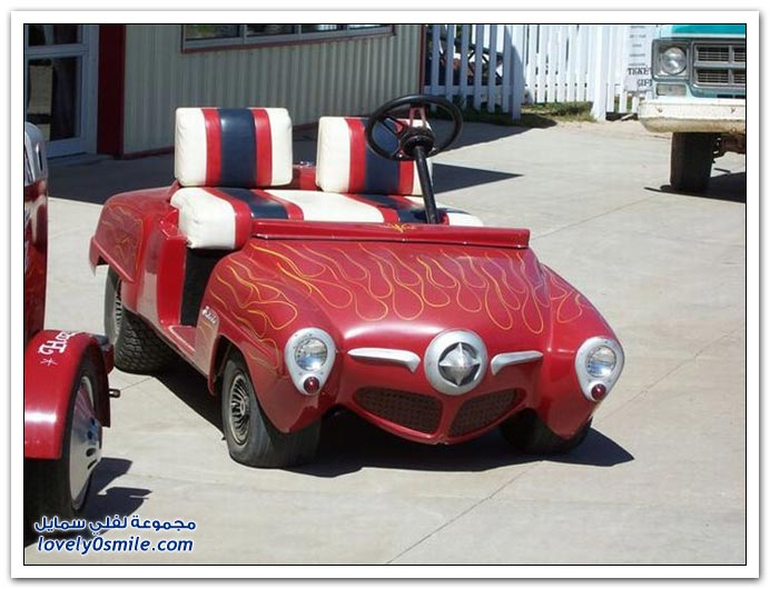 صور سيارات الجولف