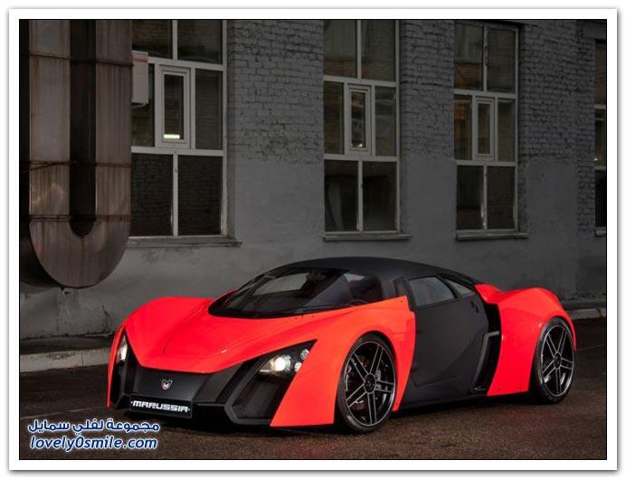 صور أحدث سيارة رياضية روسية الصنع