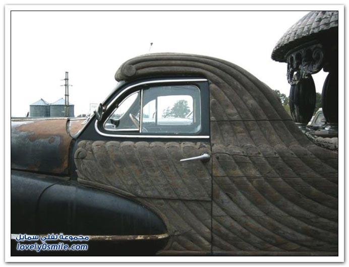 سيارات قديمة وغريبة الشكل في الأرجنتين