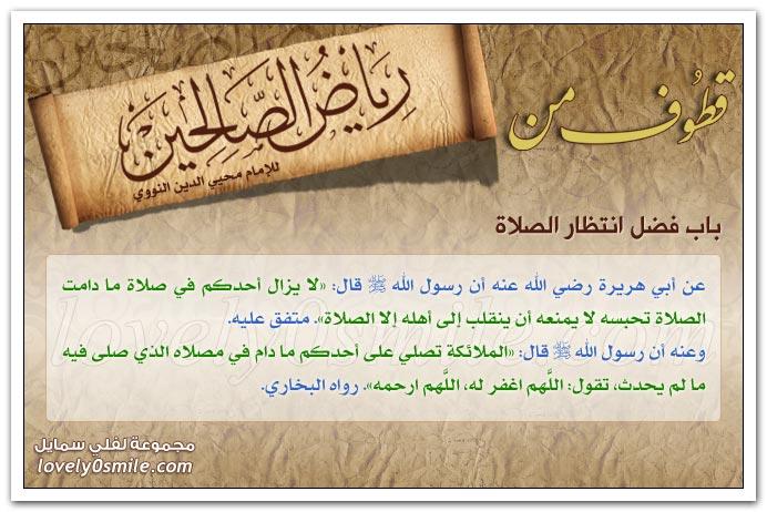 فضل الصلوات وصلاة الصبح والعصر + فضل المشي إلى المسجد وانتظار الصلاة