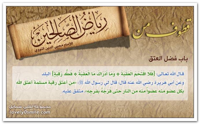 من هم الشهداء؟ + فضل الإحسان إلى المملوك