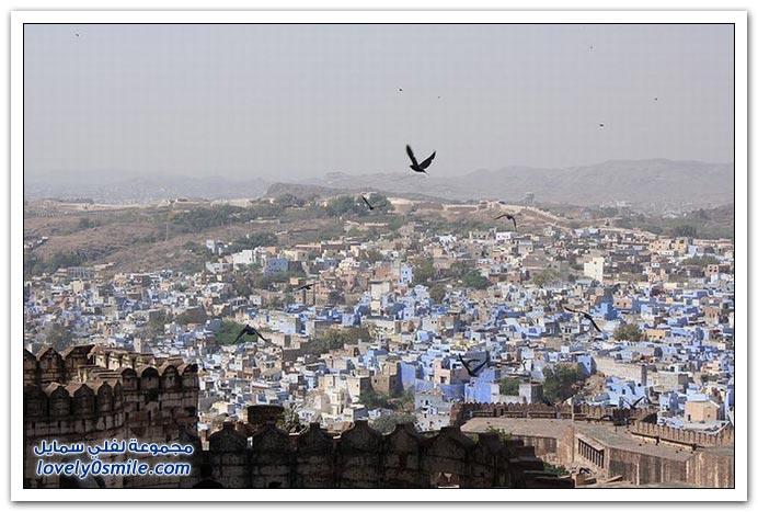 المدينة الزرقاء جودبور