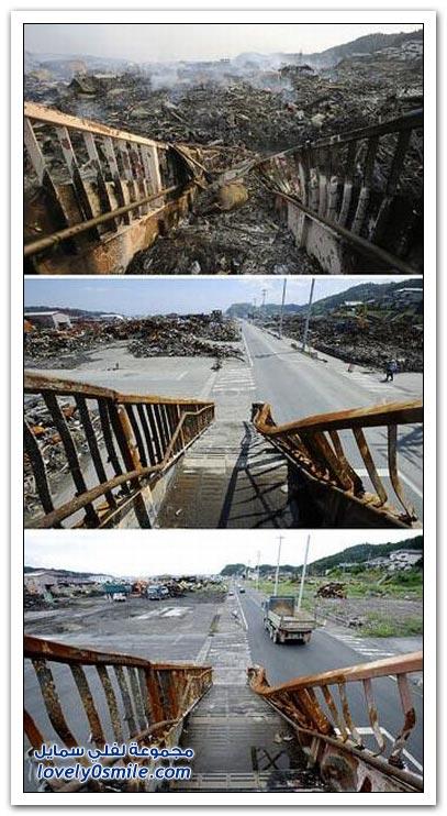 صور اليابان بعد ستة أشهر من الزلزال والتسونامي