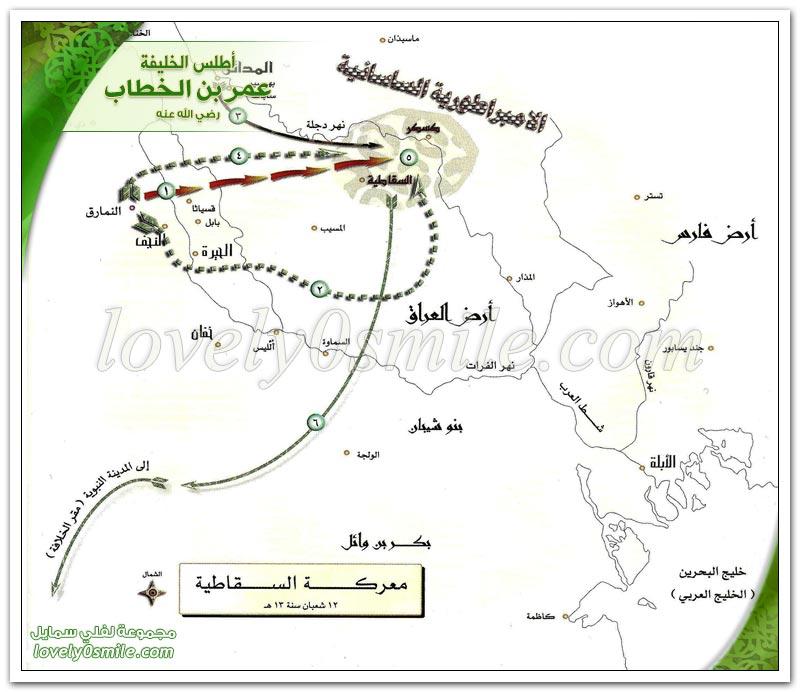معركة النمارق + معركة السقاطية + معركة باقسياثا - فتح العراق
