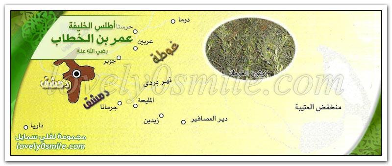 خريطة دمشق القديمة وأبوابها دمشق Atlas-Omar-256.jpg