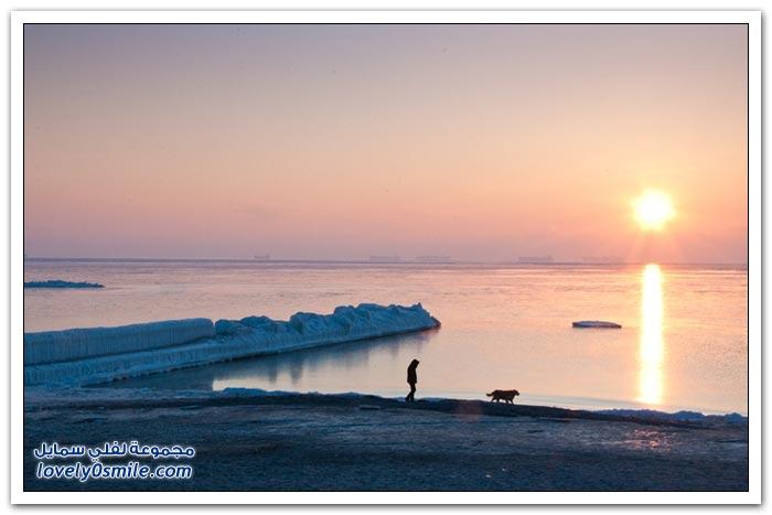 الجليد في أوروبا لعام 2012