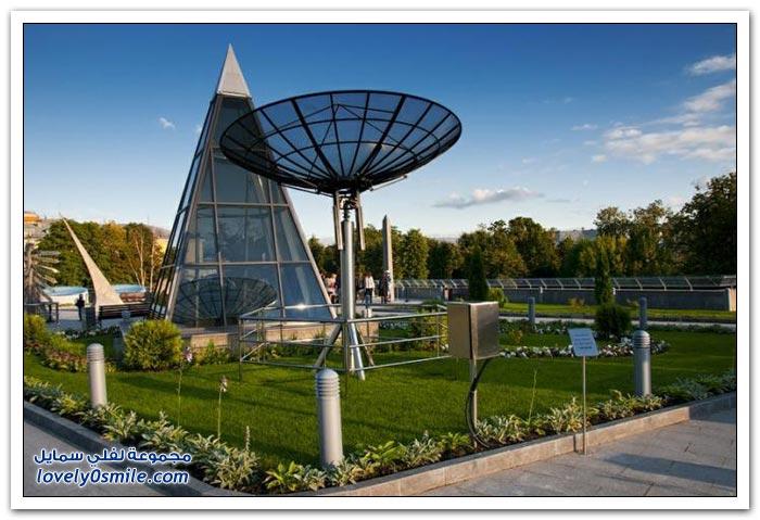 إعادة افتتاح القبة السماوية في موسكو