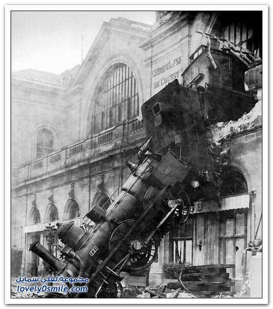 حوادث قطارات