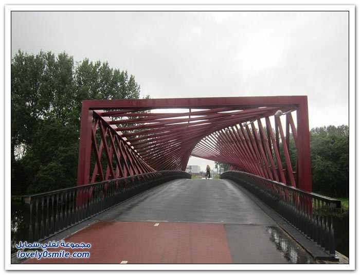 جسر تويست في هولندا