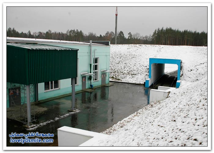مركز للتخلص من الذخيرة في جمهورية بيلاروس