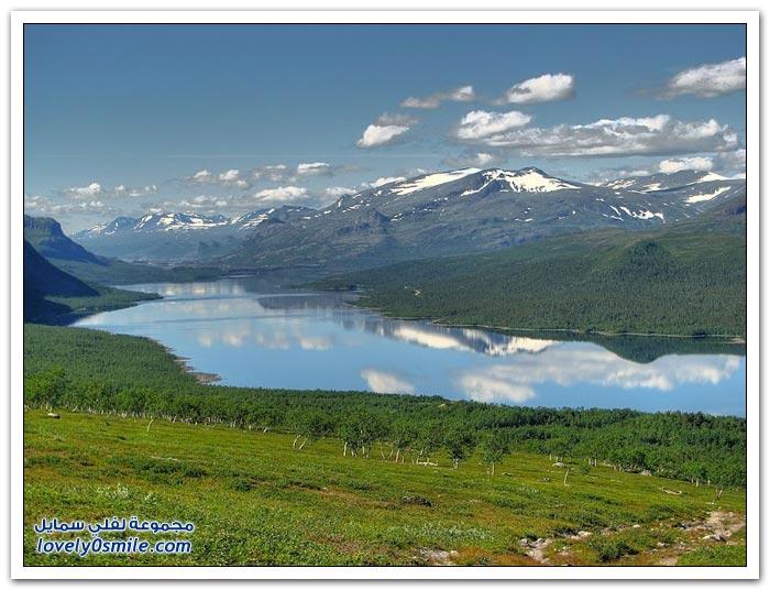 صور للطبيعة والمناظر الخلابة في السويد