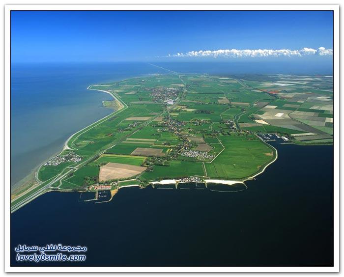 صور من هولندا من الجو.
