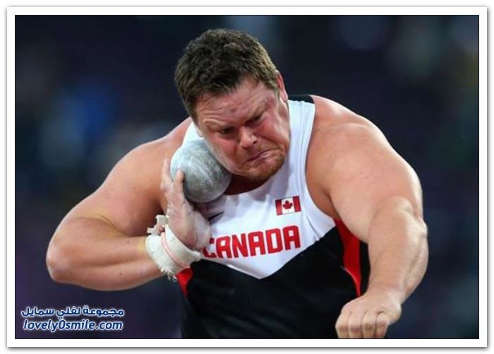 وجيه بعض اللاعبين في أولمبياد لندن 2012
