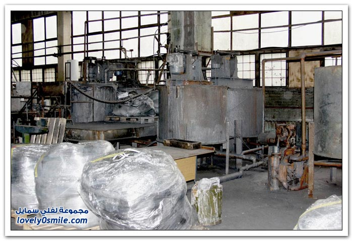 مصنع الأقلام الخشبية في روسيا