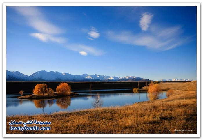 المناظر الطبيعية في نيوزيلندا