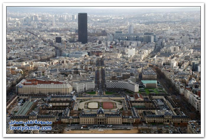 صور لباريس من برج إيفل