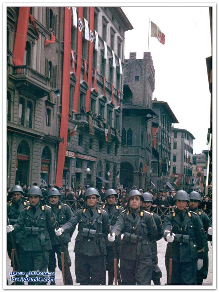 صور ملونة لإيطاليا عام 1938م
