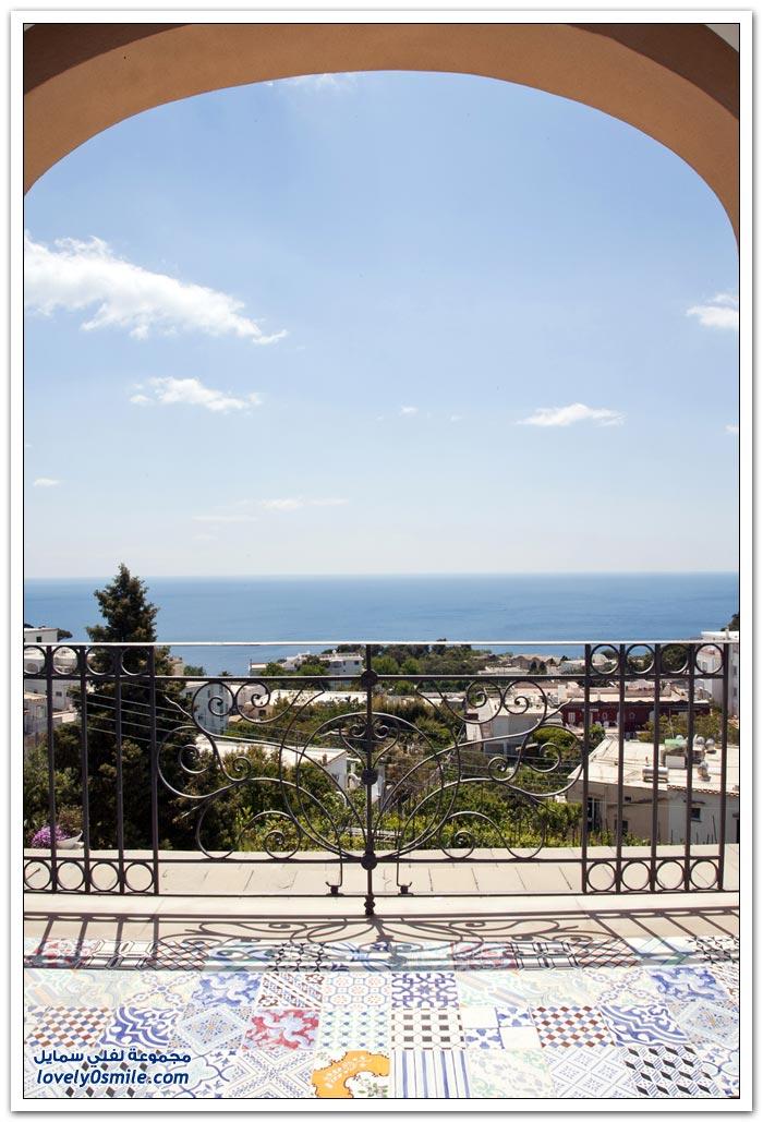 فندق تيبيريو في جزيرة كابري في إيطاليا