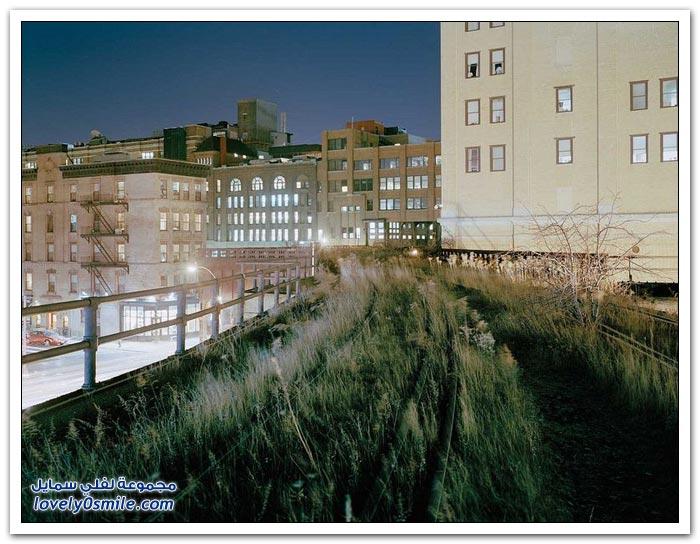 الحديقة المعلقة في نيويورك
