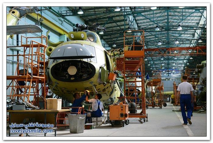 مصنع طائرات الهليكوبتر الروسية