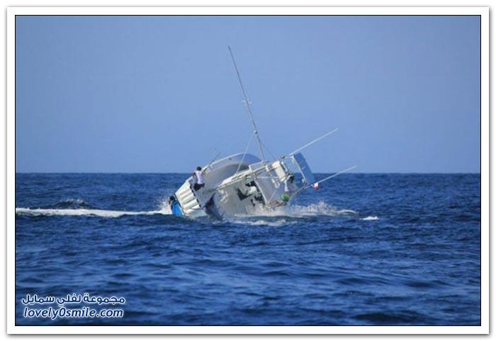 معركة بين قارب وسمكة لن تصدق عينيك!؟