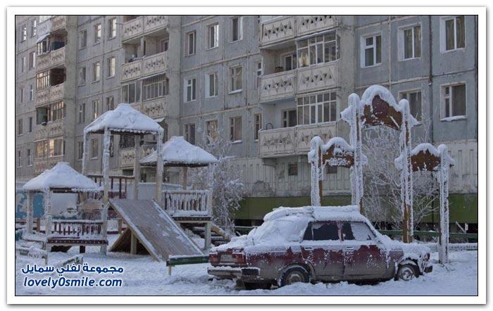أبرد قرية العالم حرارتها درجة Coldest-village-in-the-world-01.jpg