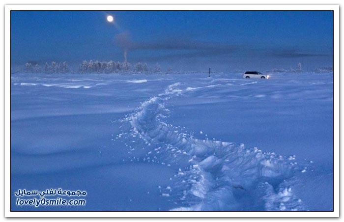 أبرد قرية العالم حرارتها درجة Coldest-village-in-the-world-06.jpg
