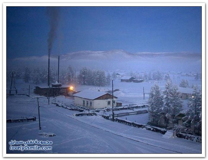 أبرد قرية العالم حرارتها درجة Coldest-village-in-the-world-24.jpg