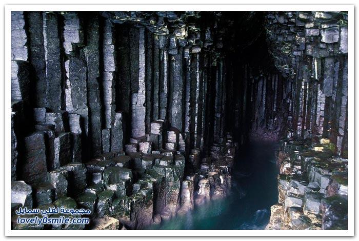 صور رائعة لصخور تكونت بسبب البراكين