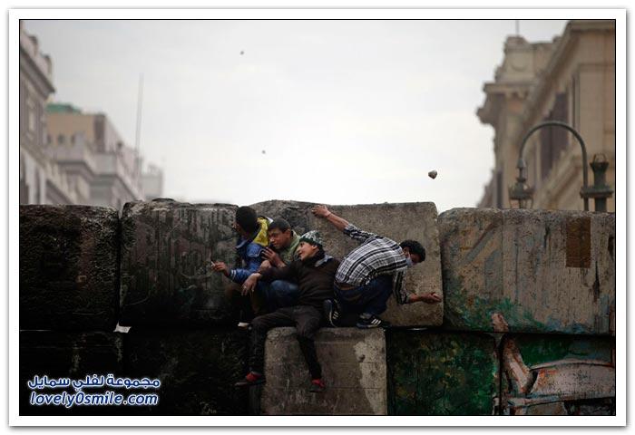 من المستفيد في مظاهرات مصر؟