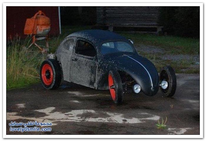 تجديد سيارة قديمة وتقديمها كهدية لطفل